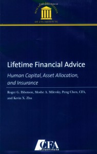 Lifetime Financial Advice: Human Capital, Asset Allocation and Insurance